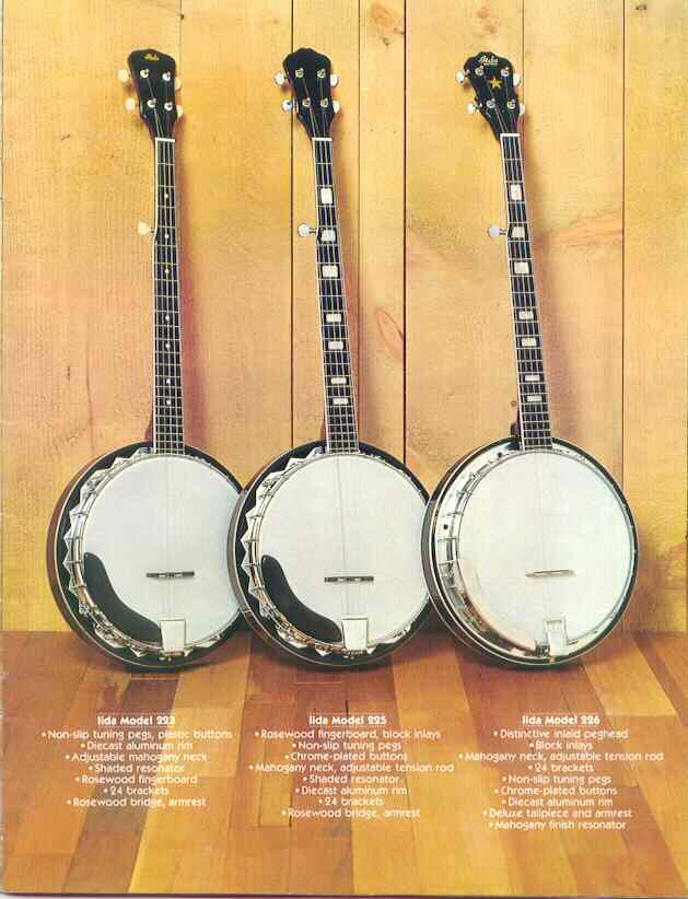 Vintage Asian Banjo Catalogs