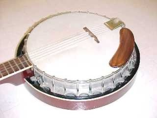 Allegretto banjo pot, aluminum with cast in flange, c. 1975. This design pot is still very common