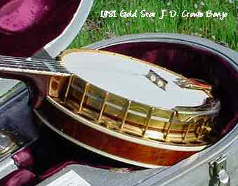 1981 Gold Star J.D. Crowe banjo, s/n 81011